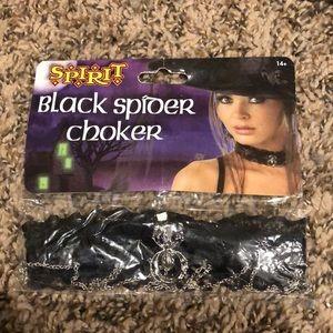 Black Spider Choker - NIP